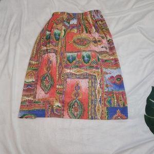 🍭🍭 Vintage Tube skirt Size Small